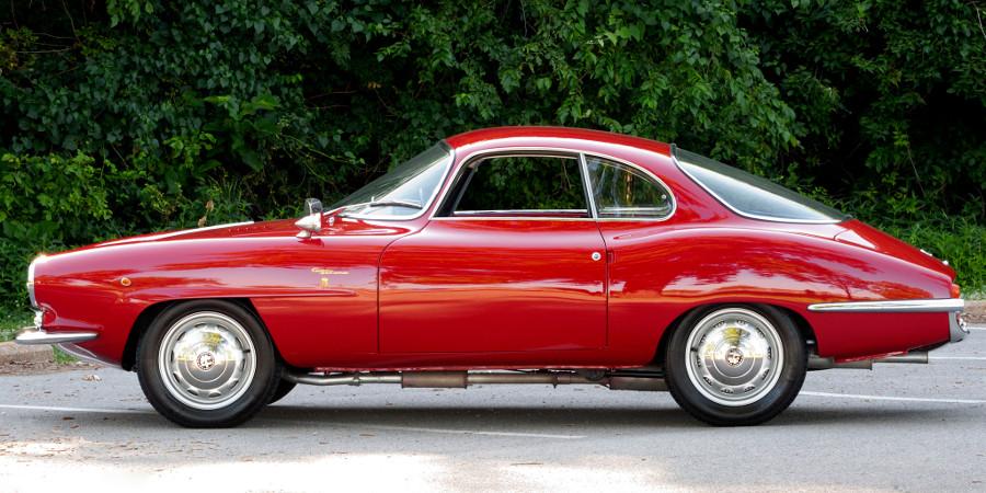 Alfa Romeo Giulietta Sprint Speciale Bertone (1957 — 1966)
